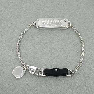 Marc Jacobs Sample Bracelets 黑色配顏色閃石蝴蝶結手鏈