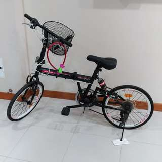 Valo Urban 5.0 foldable bicycle 7-speed gear