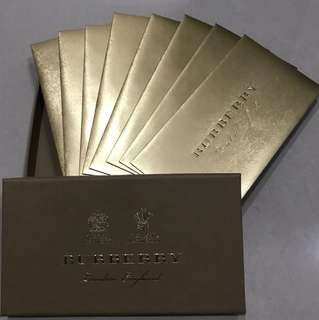 Burberry Red Packets / Ang Pow