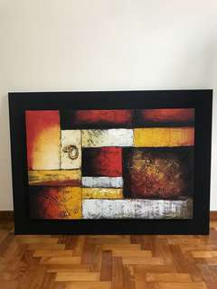Oil Painting - moving out sale