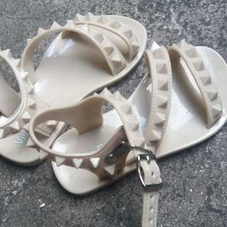 Jelly Nude Sandals for Toddlers
