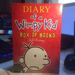 Diary of a Wimpy Kid box set (1-4)