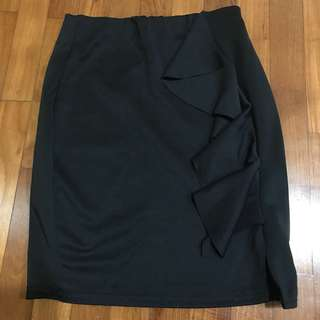 Missguided Black Pencil Skirt