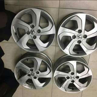 15 inch Honda City Genuine Sport Rim