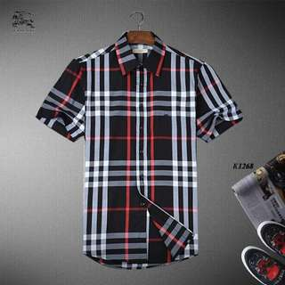 Burberry Short Sleeve Shirts