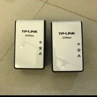 TP-Link  AV200 Powerline Adapter
