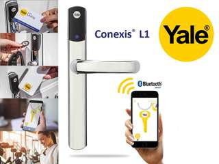 Yale Conexis L1 Smart Door Lock - Chrome