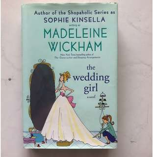 [Hardcover] The Wedding Girl by Madeleine Wickham/Sophie Kinsella