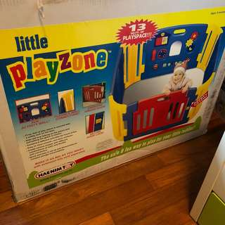 Little Playzone by HAENIM TOY: 13sq. ft playpen