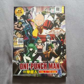 One Punch Man DVD set