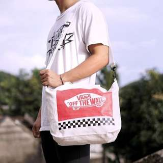 VANS TWO WAY TOTE BAG JAPAN MAGZ APPENDIX EDITION