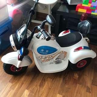 Kids Police Motorized Bike