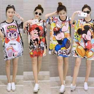 Mickey Mouse Dress Free Size