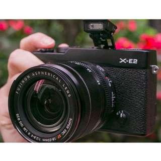 Fujifilm X-E2 Kit 16-50mm - Kredit Dp ringan tanpa kartu kredit