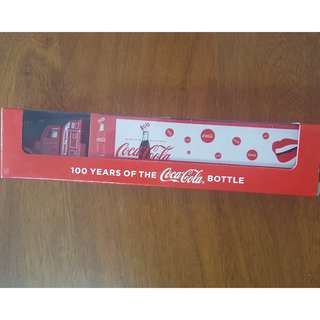 Limited Edition Coca-Cola Truck 100 Years Of The Coca-Cola Bottle