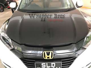 Customise Bonnet wrapping for all vehicle