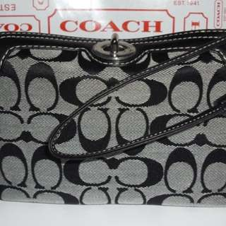 Price reduced for Coach Wristler Turn Lock Authentic