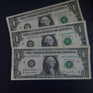 America Money. $1