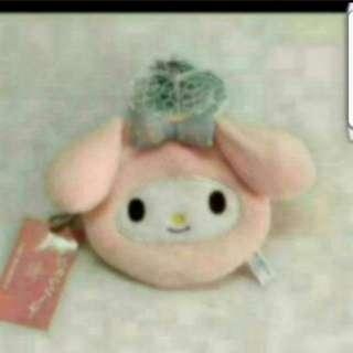 In stock Sanrio My Melody Coin Pouch 11 × 12cm
