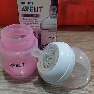 Botol avent natural pink 125 ml