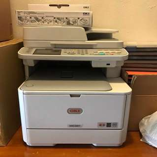 OKI MC361 Network Printer/Scanner