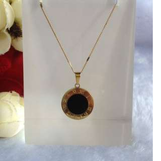 Bangkok Gold 10k Roman Numeral Necklace Not Pawnable