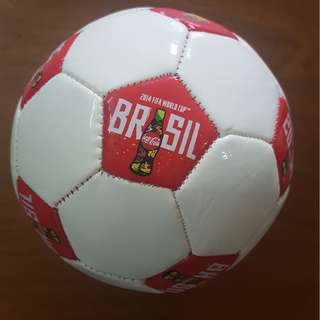 Limited Edition 2014 World Cup Coca-Cola Mini Football