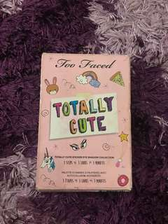 TOO FACED TOTALLY CUTE PALLETE