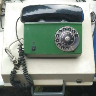 Telepon Putar Ericsson LM Vintage Antik