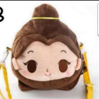 In Stock Disney Princess Bella Handbag Sling Bag For Girls Size is 20 × 19cm
