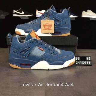 Levi's x Air Jordan4 AJ4