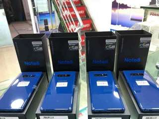 Samsun NOTE8 64gb dual brand new