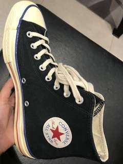 "CONVERSE 70s high BLUE VINTAGE ""LIMITED EDITION"""