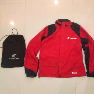 RS Taichi RSRR02 Drymaster Motorcycle Rain Jacket SIZE L