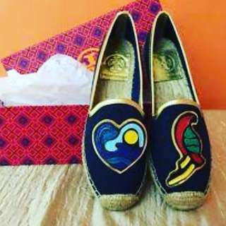 Tory Burch Parrot Patches Espadrille