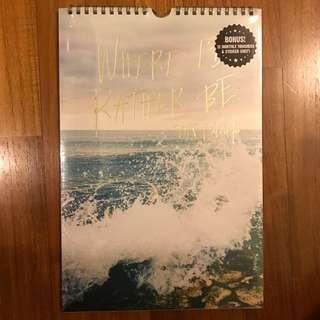 BN Typo 2018 Desk Calendar