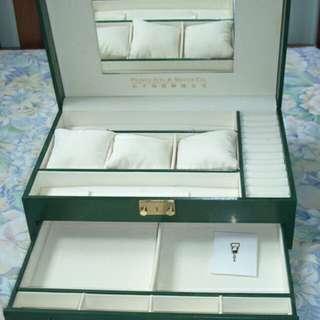 太子珠寶首飾珠寶盒(綠)