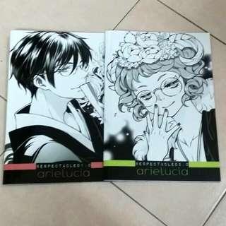 Bespectacled artbook 1&2 by arielucia(megane danshi)