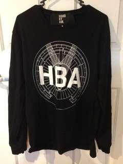 HBA Hood by air black longsleeve