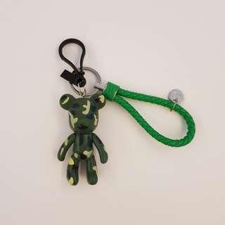 Pobobe bear Keychain / Keyring / Charm
