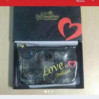 全新 LEO DIAMOND 化妝袋/散紙包