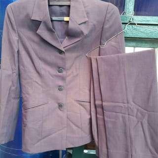 Set blazer +celana