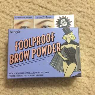 Benefit Foolproof Brow Powder In Medium 3