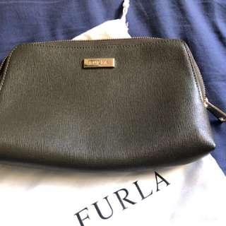 FURLA化妝包 (軍綠色)
