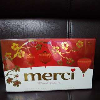 Merci Chocolate 朱古力禮盒 (400g) 賀年