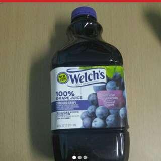 全新威路氏 Welch's 100%提子汁 64oz, 有效至2018年6月19,原價57.7 黃埔/觀塘/銅鑼灣優先