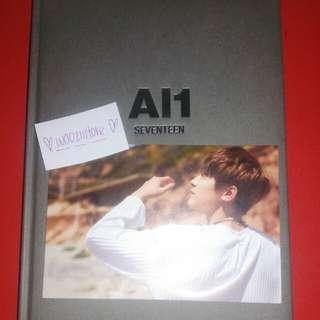 (READY STOCK) Seventeen Al1 Wonwoo Postcard