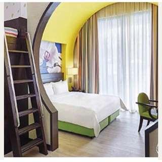 2D1N Festive Hotel Deluxe Family Room