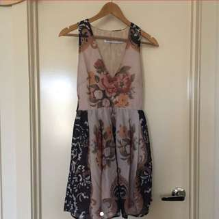 Alice mccall floral dress