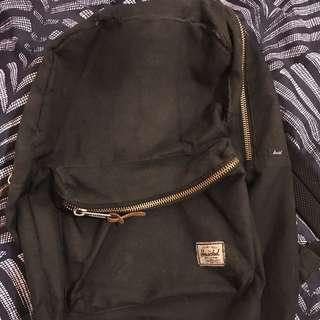 Black Herschel bag